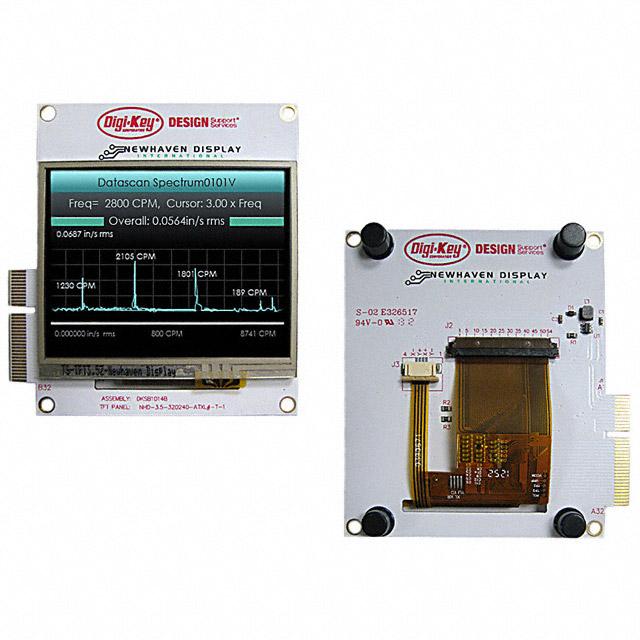 NHD-3.5-320240MF-PIC EVAL BOARD